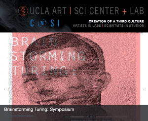 """Brain Storming Turing Art Sci Center UCLA"""