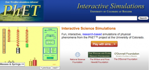 """PhET Simulations and Science Literacy Web Resource"""