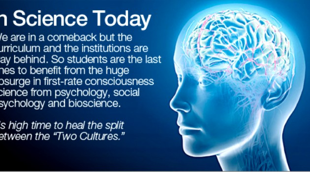 """""""The Study of Consciousness in the Brain"""""""